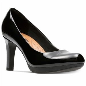 Clarks Collections Adriel Viola patent leather.